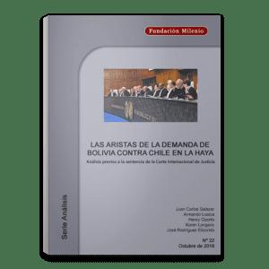 Análisis No. 22. Las aristas de la demanda de Bolivia contra Chile en la Haya
