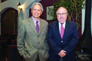 Henry Oporto y Carlos Zannier