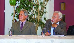 Henry Oporto y Juan Antonio Morales