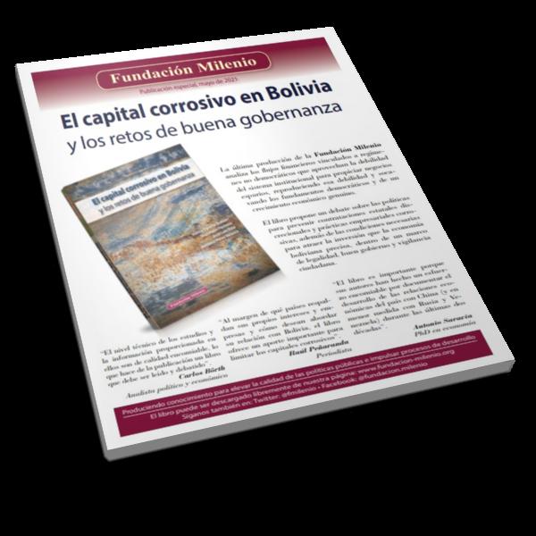 Separa el captal corrosivo en Bolivia